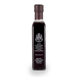 Organic artisan aged red wine vinegar