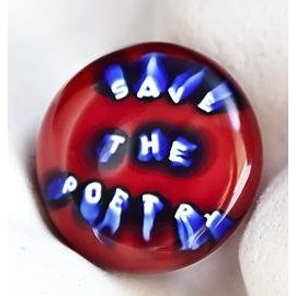 """Save the poetry"" ring by Marco Nereo Rotelli"