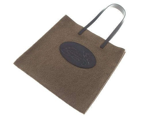 Shopping bag marrone in canvas