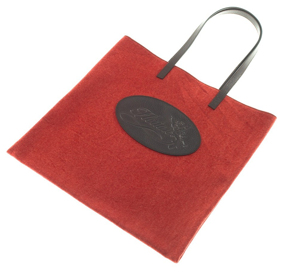 Shopping bag Florian in canvas rossa