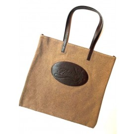 Shopping bag Florian in canvas beige