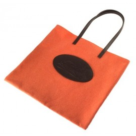 Shopping bag Florian in canvas arancione