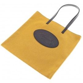 Shopping bag Florian in canvas gialla