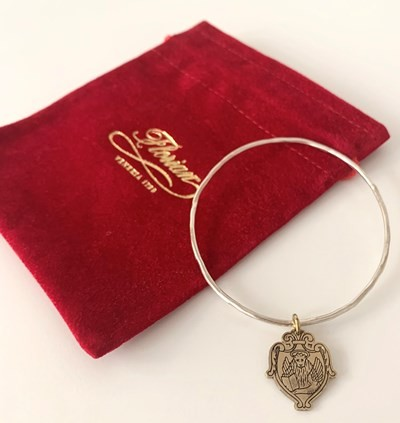 Florian 300 Anniversary bracelet - two colors silver\brass