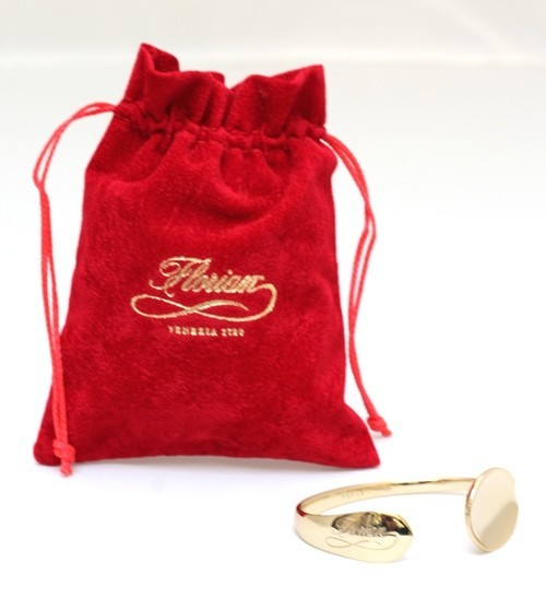 Precious Thought gift box with gold spoon bracelet