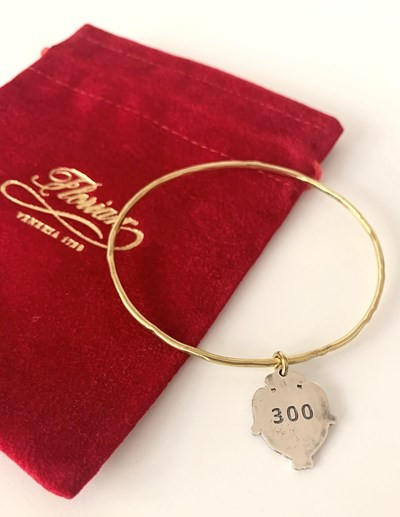 Florian 300 Anniversary bracelet - two colors (brass\silver)