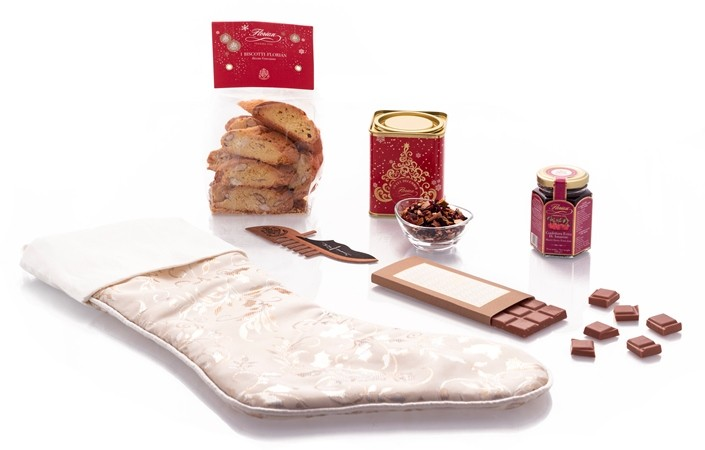Florian Epiphany stocking with biscuits