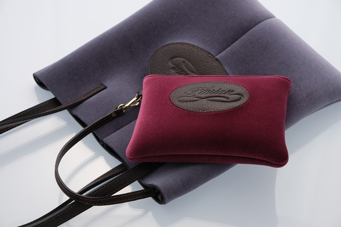 Florian bag in neoprene with pouch