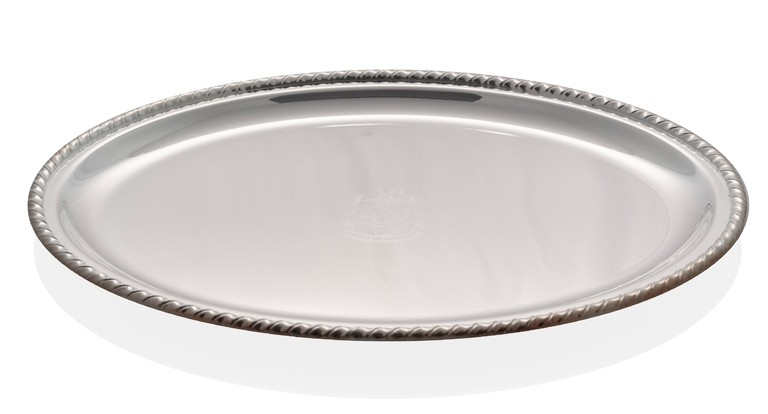 Silver plated big tray