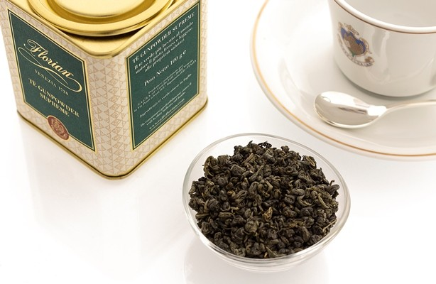 gunpowder supreme tea loose in tin 100 gr