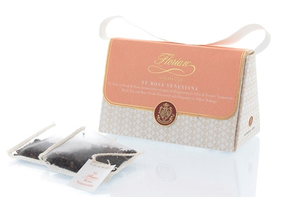 venetian rose tea in teabags