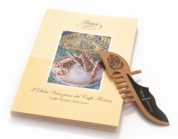 "Book ""Caffè Florian Delicacies"" with bookmark"