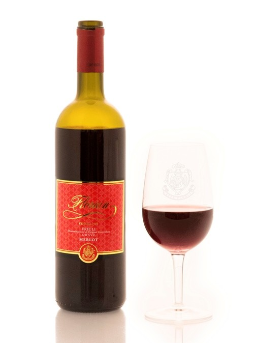 red wine Merlot D.O.C. Florian 750 ml