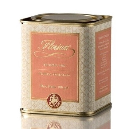 venetian rose tea in tin