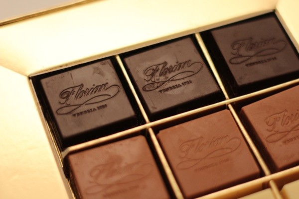 selection of florian napolitaines chocolates 160 gr