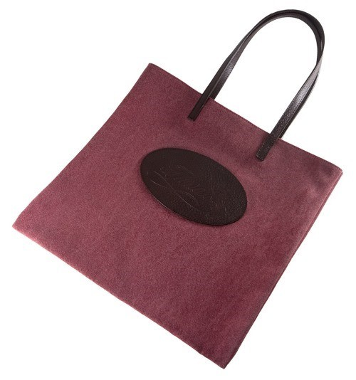 mulberry canvas shopping bag