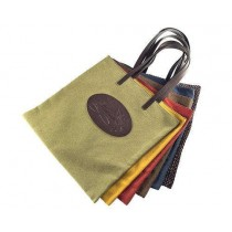 Florian canvas shopping bag