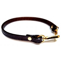 Florian leather handchain for pouch