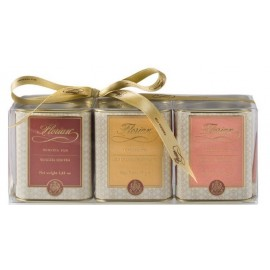 Set of three selected teas in small tins