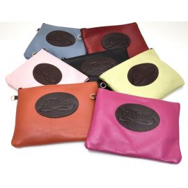 Florian leather pouch