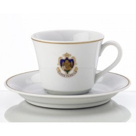 """Anniversario"" tea cup and saucer"
