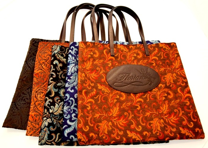 shopping bag damascata